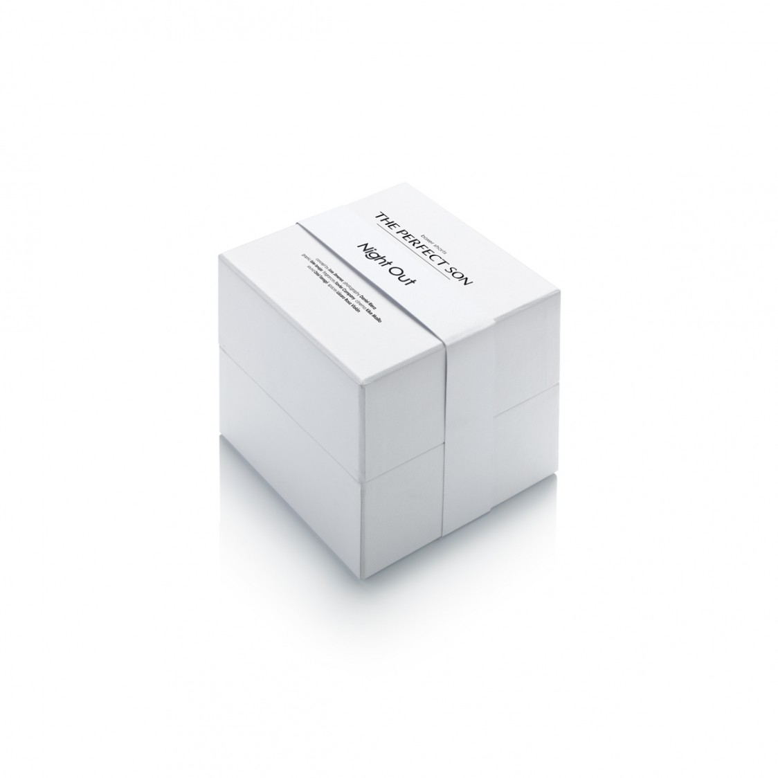 Night out caja cerrada tipo cubo con calzoncillo negro de lujo para hombre