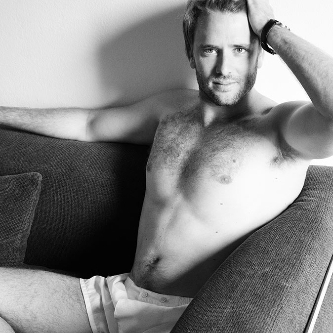 Jonathan Grbovits in underwear is The Perfect Son